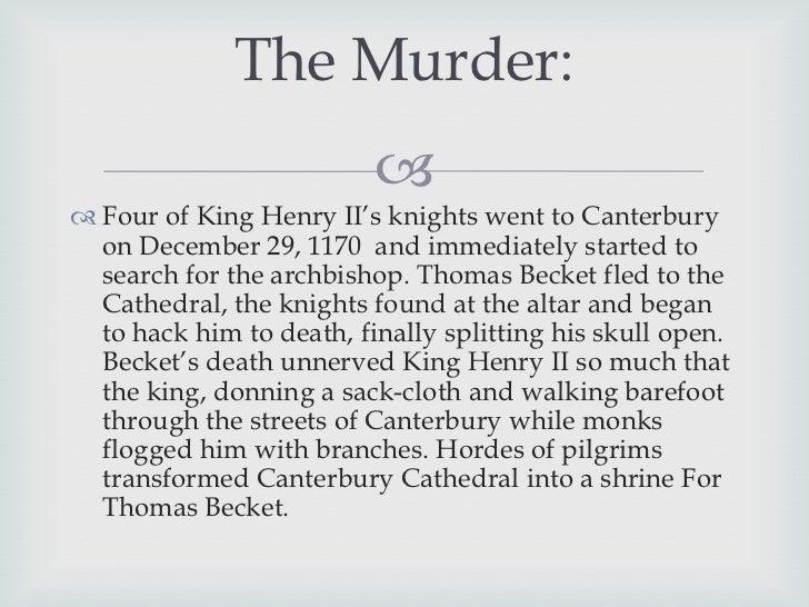 Thomas Becket Essay ⋆ History Essay Examples ⋆ EssayEmpire
