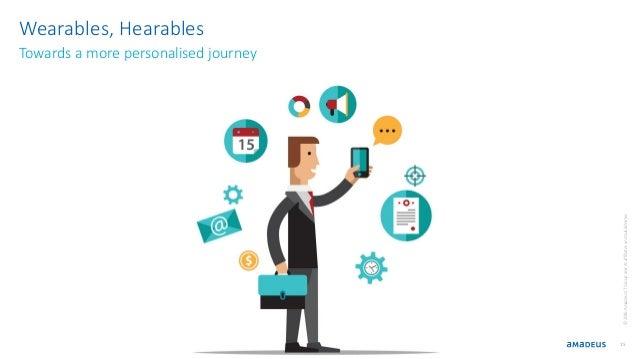 15 ©2016AmadeusITGroupanditsaffiliatesandsubsidiaries Wearables, Hearables Towards a more personalised journey