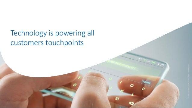 Technology is powering all customers touchpoints ©2016AmadeusITGroupanditsaffiliatesandsubsidiaries