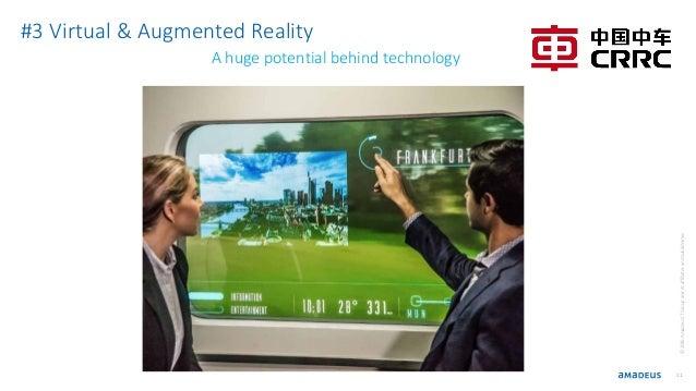 21 ©2016AmadeusITGroupanditsaffiliatesandsubsidiaries #3 Virtual & Augmented Reality A huge potential behind technology