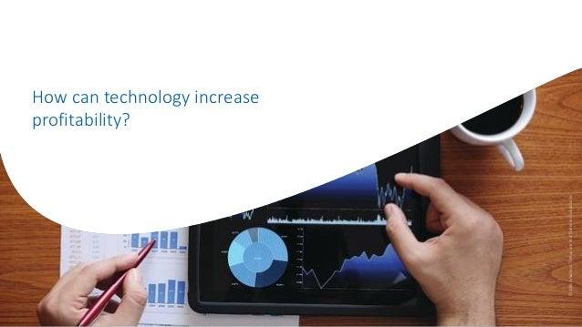 How can technology increase profitability? ©2016AmadeusITGroupanditsaffiliatesandsubsidiaries