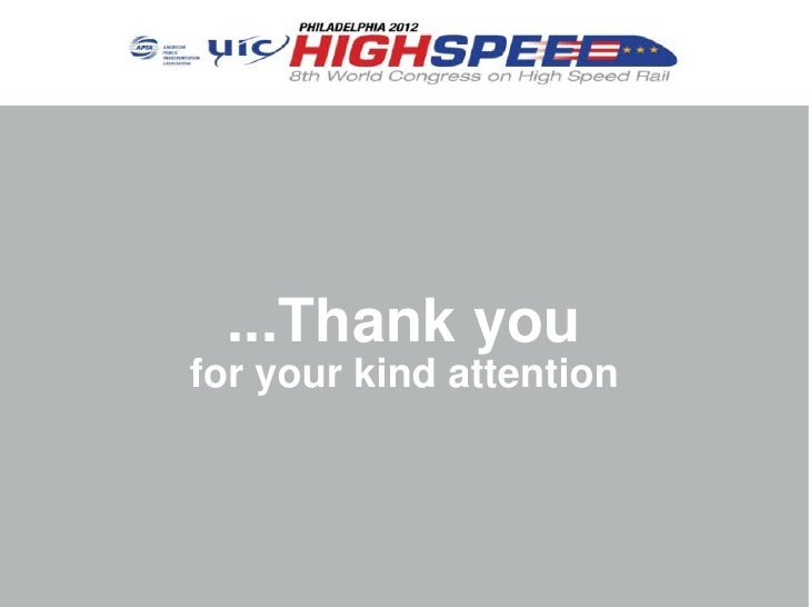 ...Thank youfor your kind attention