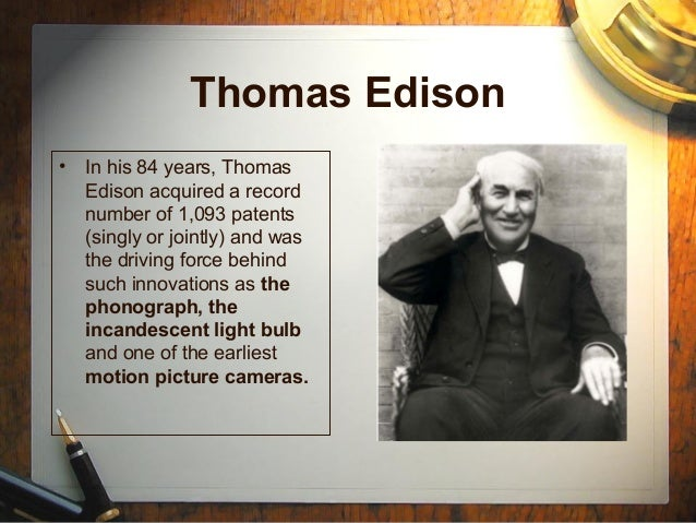 Edison And The Invention Of The Incandescent Light Bulb