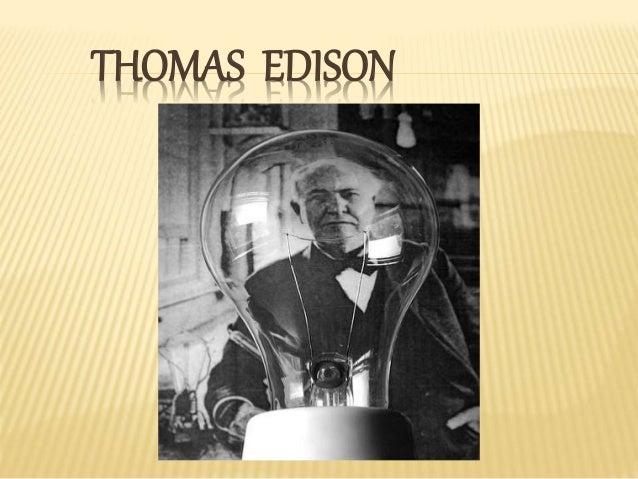 Thomas edison for Edison home show