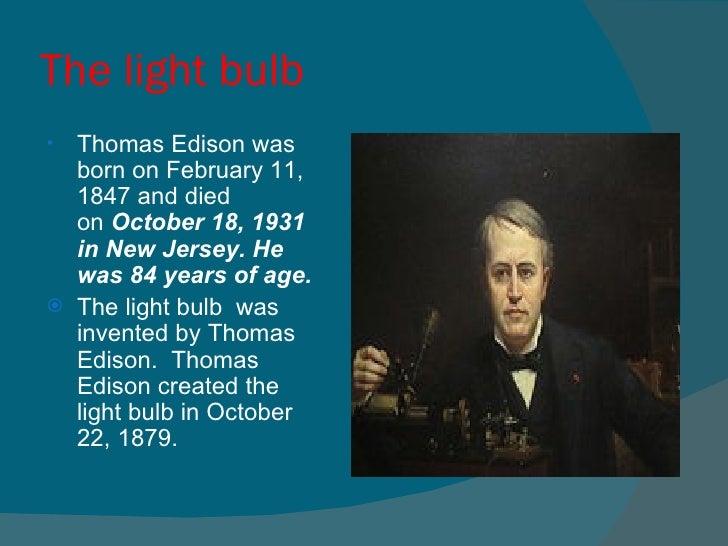 Thomas Edison Project