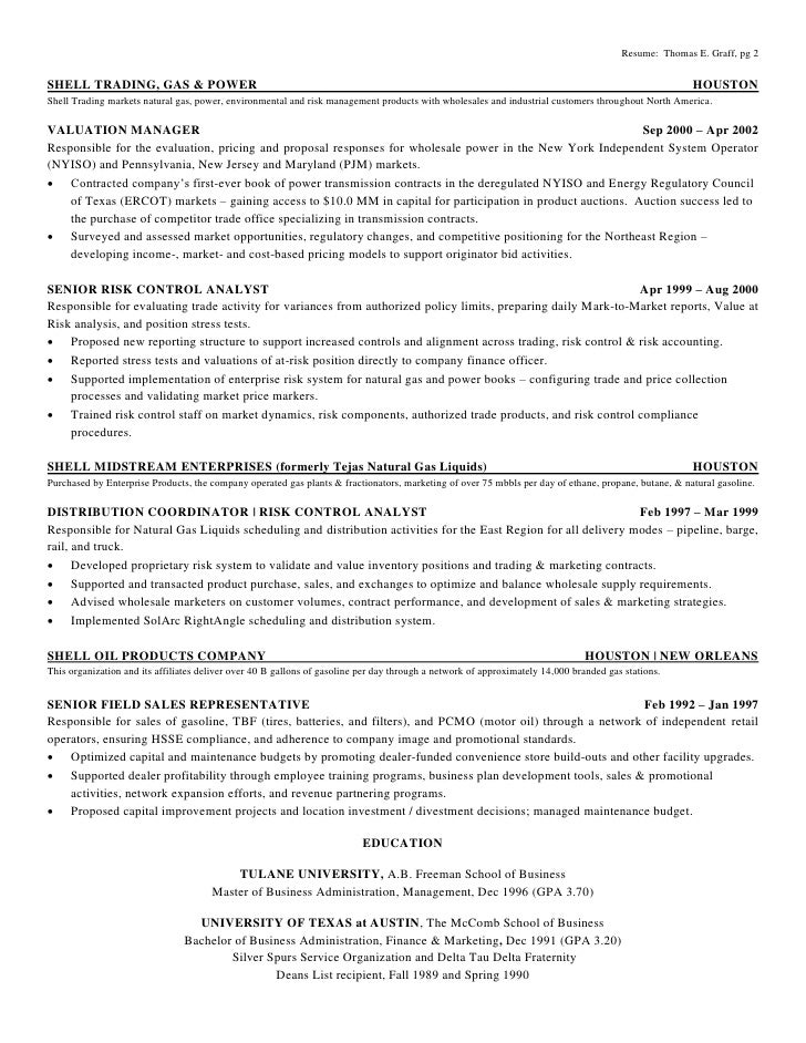 thomas e graff two page resume v2 1