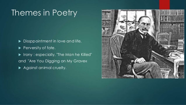 thomas hardy poetry themes