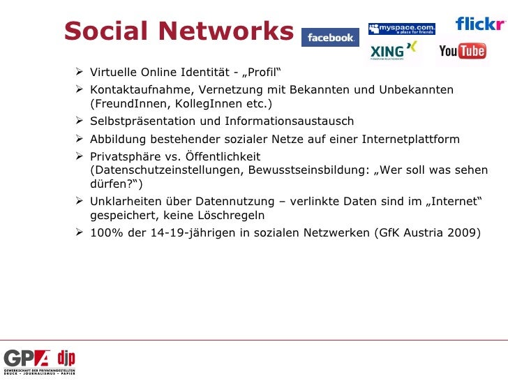 """Social Networks Virtuelle Online Identität - """"Profil"""" Kontaktaufnahme, Vernetzung mit Bekannten und Unbekannten  (Freund..."""