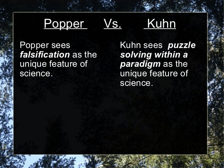 kuhn vs popper This feature is not available right now please try again later.