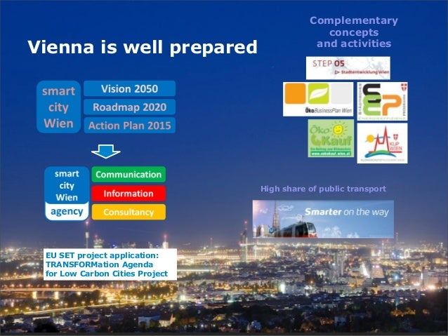Complementary                                               conceptsVienna is well prepared                      and activ...