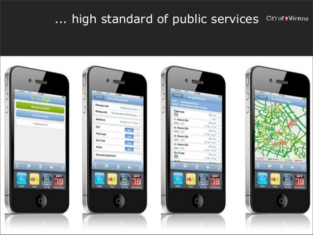... high standard of public services