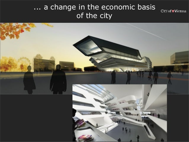 ... a change in the economic basis            of the city