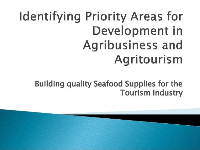 Building quality Seafood Supplies for the Tourism Industry