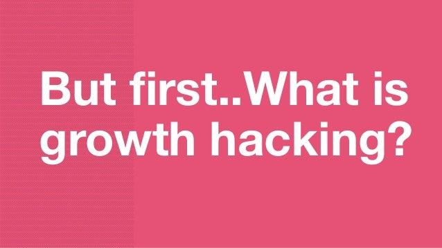 Growth hacking mindset @evelinesmet