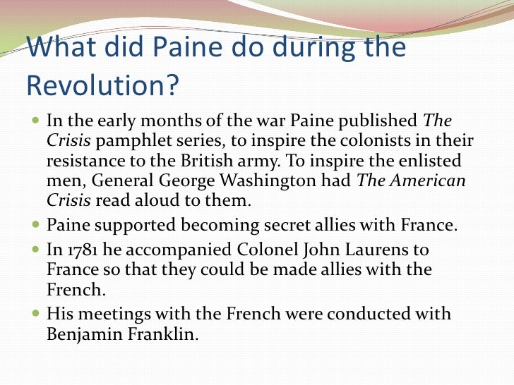 the secrets of thomas paine The eighteenth fructidor to the people of france and the french armies 1 xxx: the recall of monroe1 xxxi: private letter to thomas jefferson xxxii: proposal that louisiana be purchased1 (sent to the president, christmas day, 1802) xxxiii: thomas paine to the.