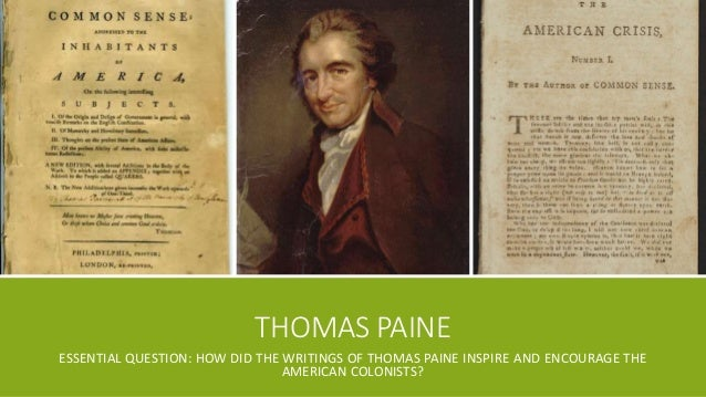 thomas paine african slavery in america Thomas paine national the biographies on paine are in error when they attribute african slavery in america and a serious thought to paine.