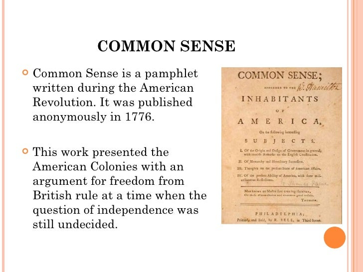 thomas paine argumentative The main argument of thomas paine's common sense was why did thomas paine write the common sense what were the major arguments presented by thomas paine in common sense more questions does anyone know facts about common sense by thomas paine.