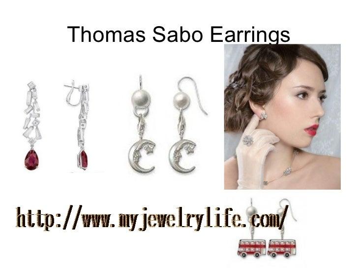Thomas Sabo Earrings http://www.myjewelrylife.com/