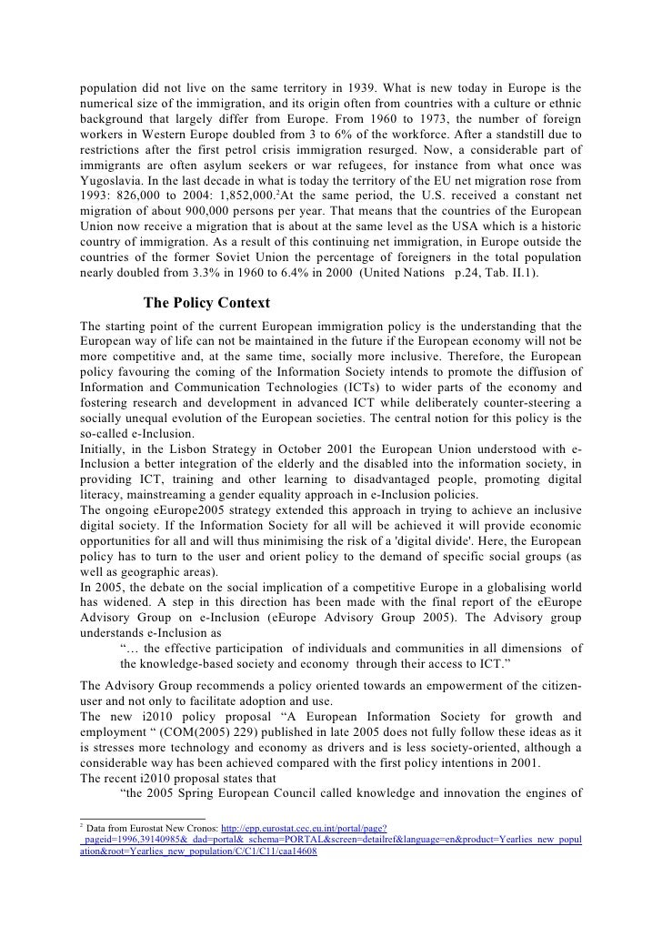 an analysis of the discrimination of the migrant workers in western europe Ing migrant workers in international human rights law: their protection in  countries of employment (1997) borders and discrimination in the european  union (2002)  this report is to analyse the reasons behind non-ratification in  one of the most developed  respect of the convention in norway, poland or  germany.