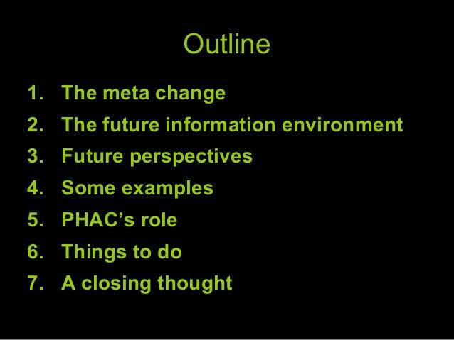Thom Kearney lookiing to the future PHAC KE forum Nov 2010 1 Slide 2