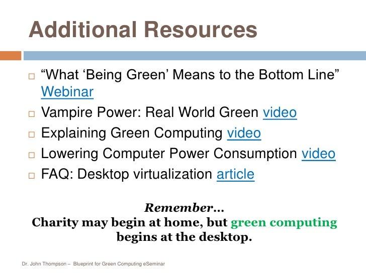 Blueprint for green computing blueprint for green computing eseminar 26 malvernweather Choice Image