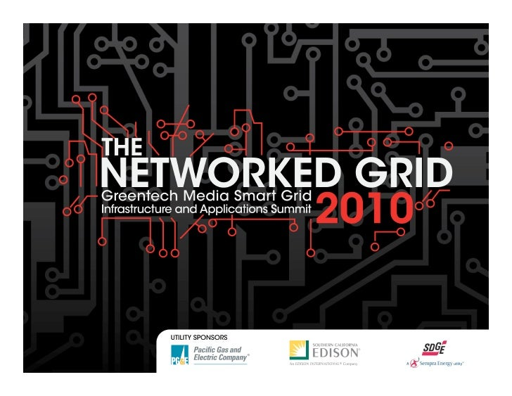 The Networked Grid Sponsors                       SIGNATURE LIVE BROADCAST       SPONSORS             UTILITY    SPONSOR  ...