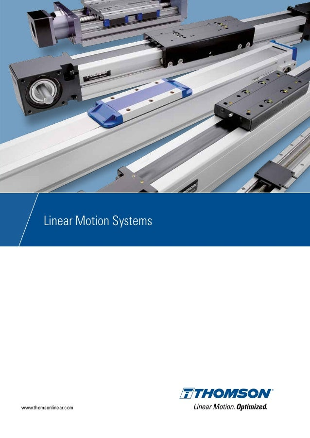 Thomson linear motion systems_ctuk