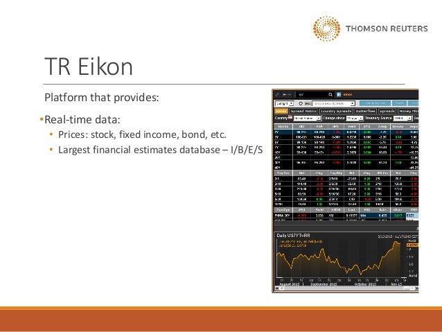 Thomson reuters - company analysis