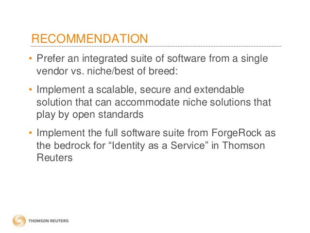 Case Study: Thomson Reuters