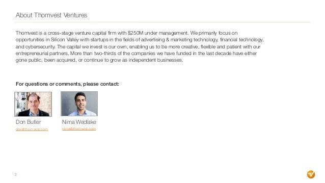 Late Stage AdTech Market Update (Thomvest Ventures) Slide 2