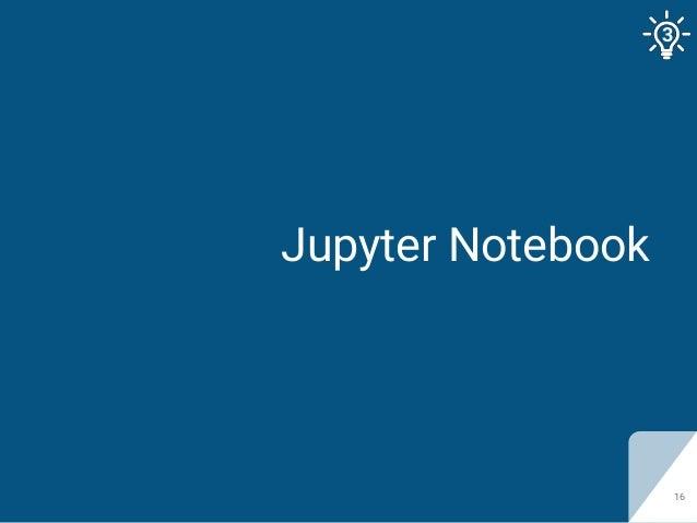 Jupyter Notebook 16 3