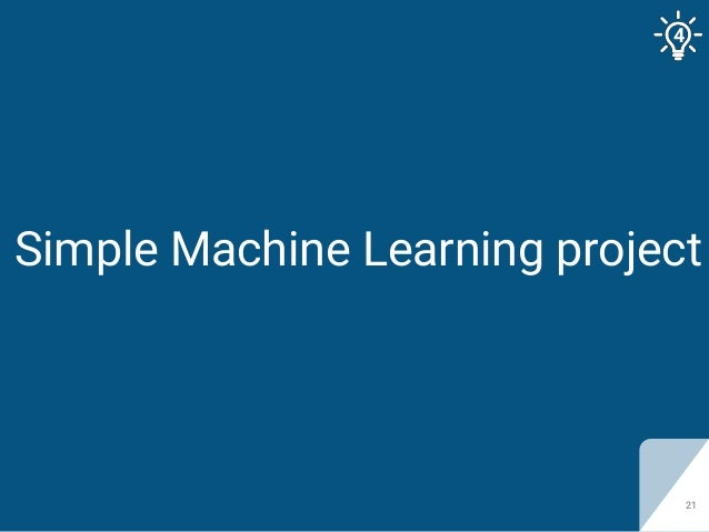 Simple Machine Learning project 21 4