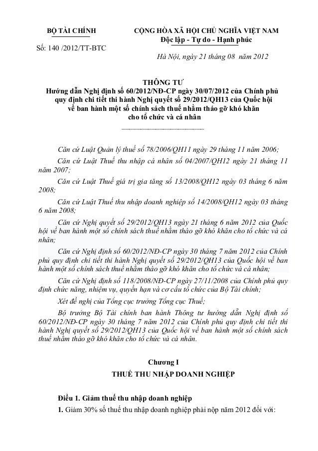 BỘ TÀI CHÍNH                 CỘNG HÒA XÃ HỘI CHỦ NGHĨA VIỆT NAM                                        Độc lập - Tự do - H...