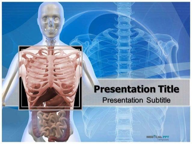Thorax Powerpoint Template Medicalppttemplates Com