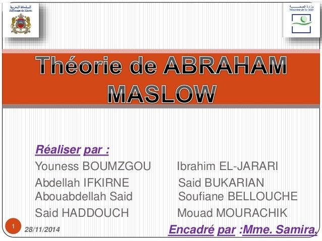 Réaliser par :  Youness BOUMZGOU Ibrahim EL-JARARI  Abdellah IFKIRNE Said BUKARIAN  Abouabdellah Said Soufiane BELLOUCHE  ...