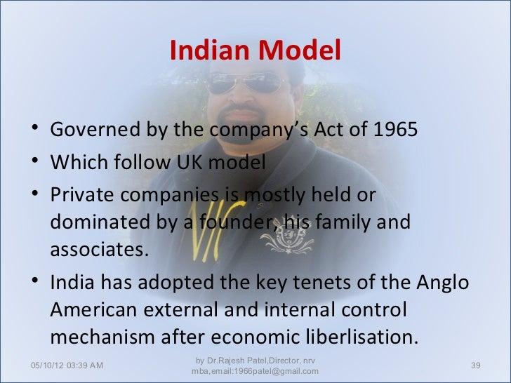 Corporate governance.
