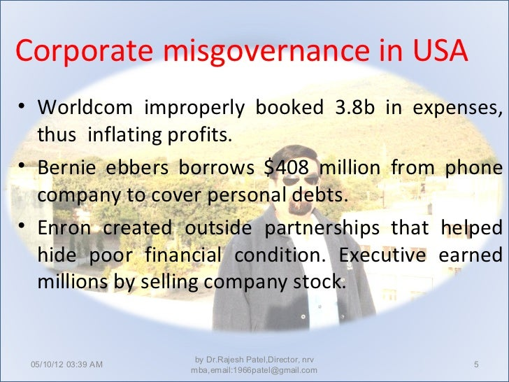 corporate misgovernance Dms governance is the worldwide leader in fund governance, risk and compliance representing leading investment funds and managers.
