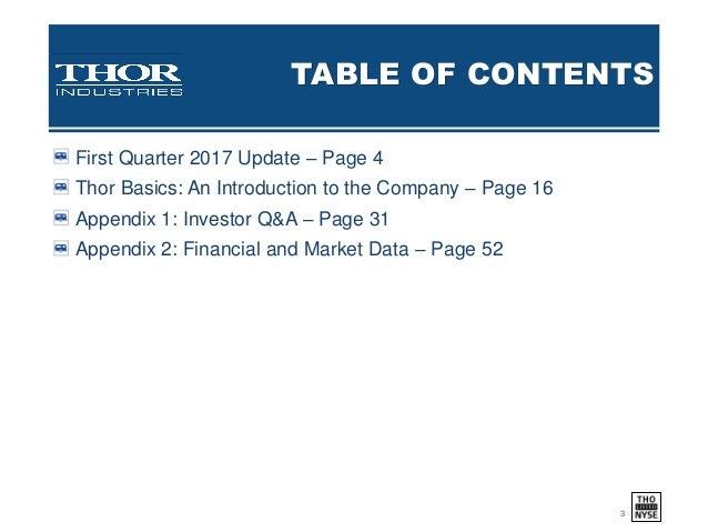 Thor investor presentation 9 26 16 final