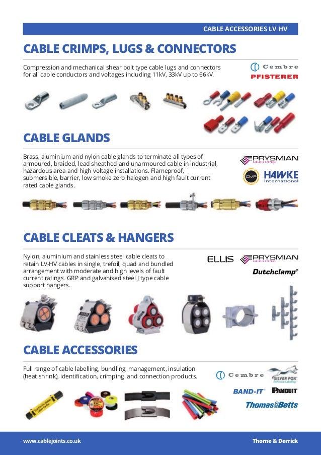 THORNE + DERRICK : LV, MV & HV Cable Installation, Jointing, Substati…