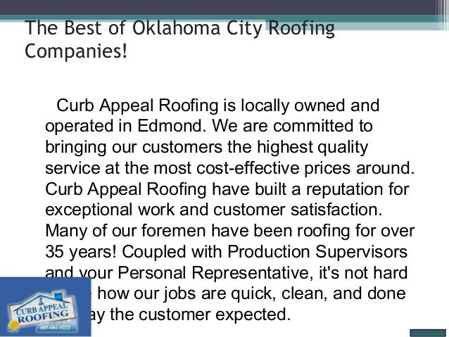 The Best Of Oklahoma City Roofing ... Sc 1 St SlideShare