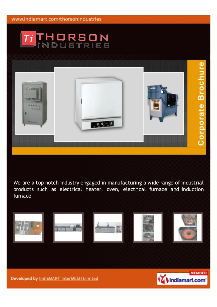 We are a top notch industry engaged in manufacturing a wide range of industrialproducts such as electrical heater, oven, e...