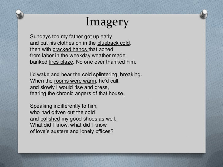"""digging and those winter sundays """"those winter sundays"""" is a poem, which has fourteen lines it fills the basic characteristic of sonnet yet it is not a sonnet because the poem does not rhyme and hayman has not written this poem in regular iambic pentameter too."""