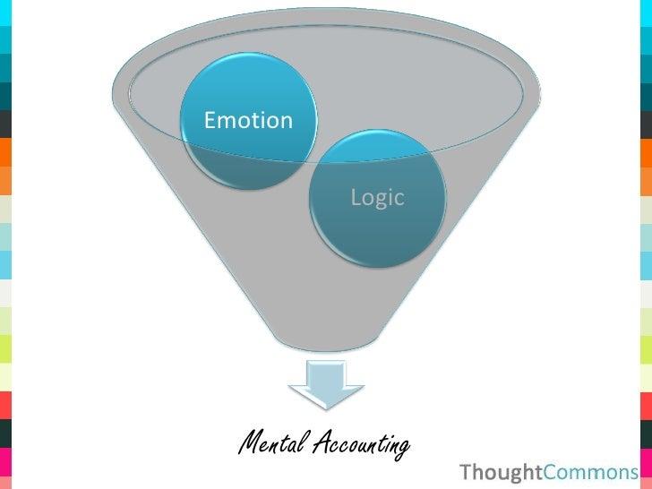 Emotion              Logic       Mental Accounting