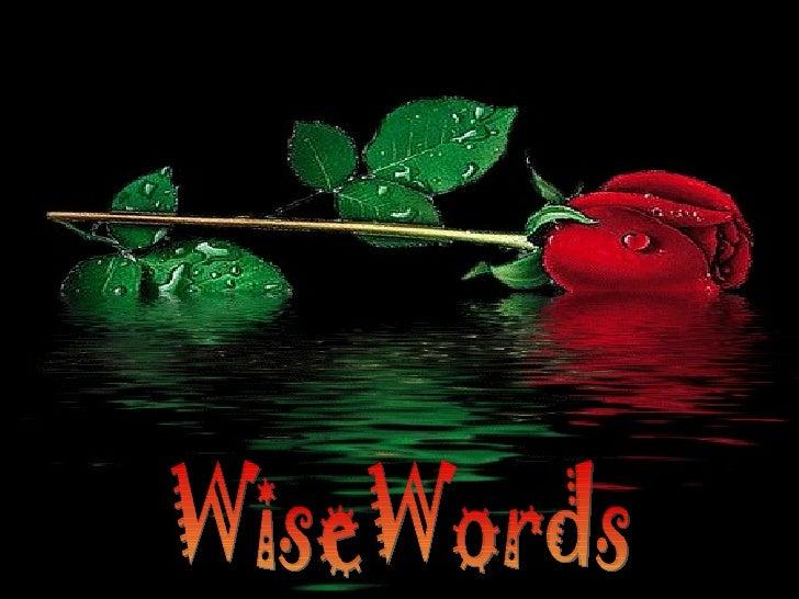 WiseWords
