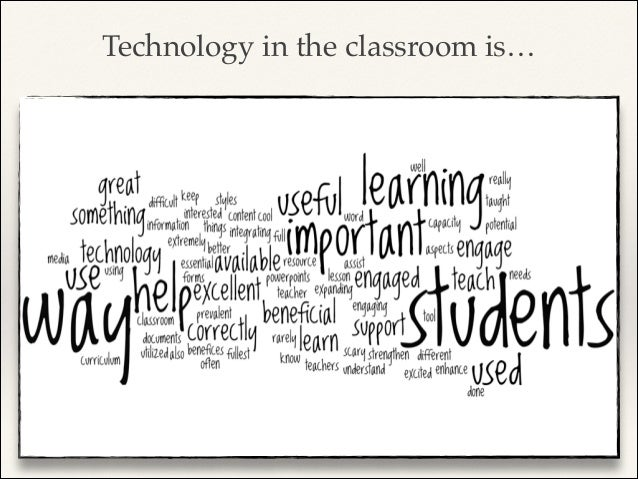 Technology in the classroom is… NOT ! TEACHER-CENTERED!