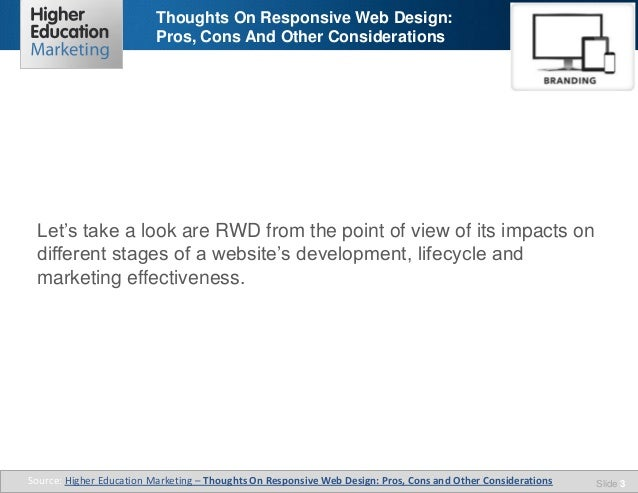 What Is Responsive Design Pros And Cons Of Responsive Web: Thoughts On Responsive Web Design Pros, Cons And Other
