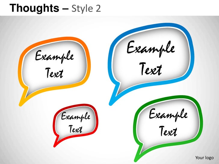 Thoughts – Style 2     Example         Example       Text            Text          Example       Example            Text  ...