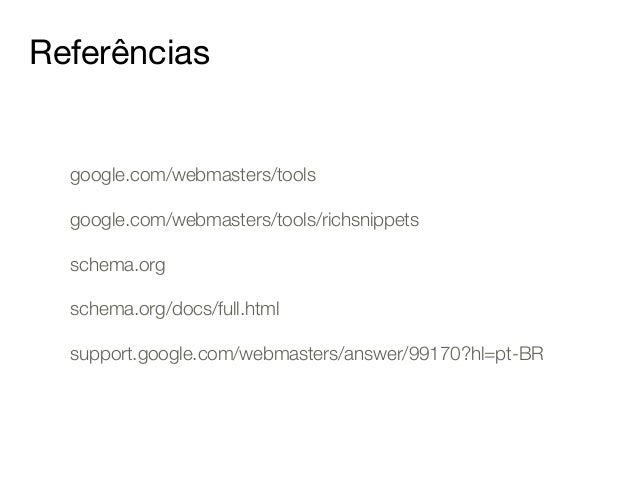 Como implementar Rich Snippets - Thought Works