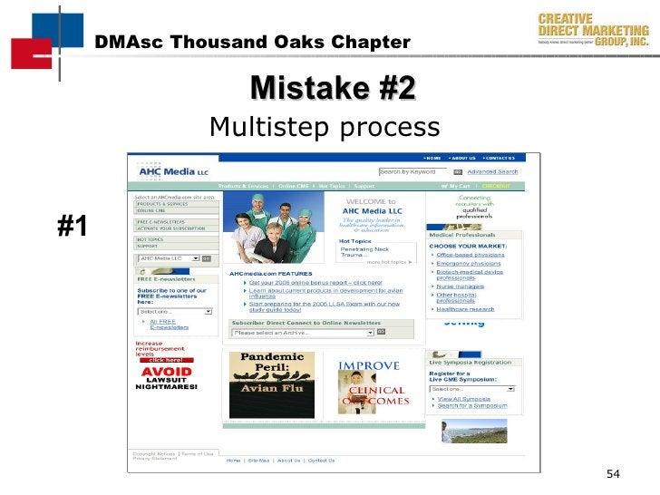Mistake #2 <ul><li>Multistep process  </li></ul>#1