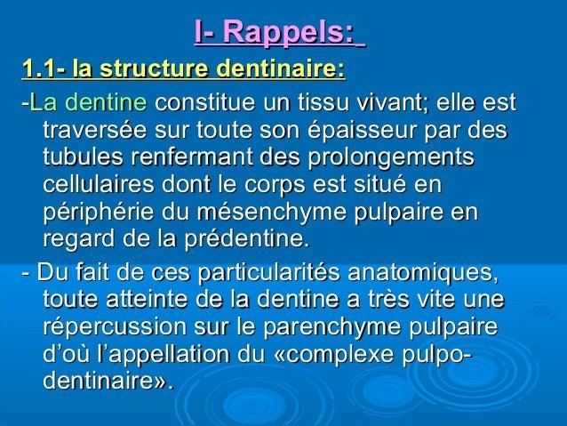 Thérapeutiques dentinaires Slide 3
